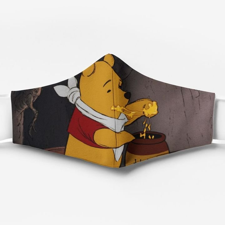 Winnie-the-pooh full printing face mask 1