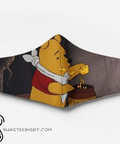 Winnie-the-pooh full printing face mask