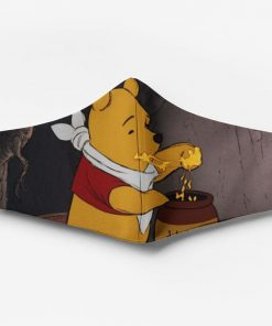 Winnie-the-pooh full printing face mask 4
