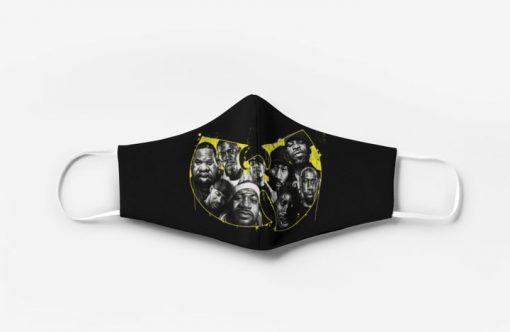 Wu-tang clan hip hop group full printing face mask 1