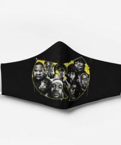 Wu-tang clan hip hop group full printing face mask 2