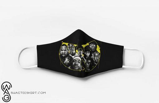 Wu-tang clan hip hop group full printing face mask