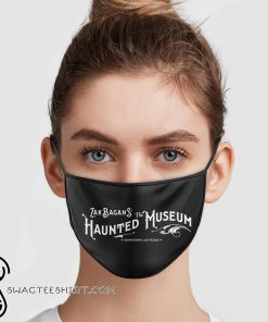 Zak bagans the haunted museum anti pollution face mask