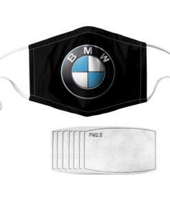 BMW symbol anti pollution face mask 2