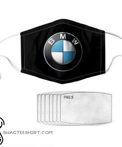 BMW symbol anti pollution face mask