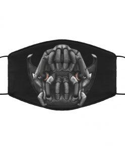 Bane batman anti pollution face mask 1