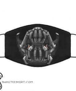 Bane batman anti pollution face mask