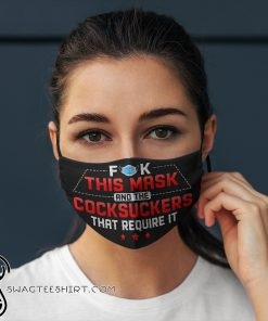 Fuck this mask and the cocksuckers that require it anti pollution face mask