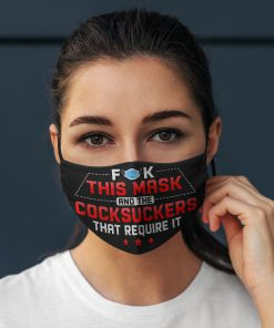 Fuck this mask and the cocksuckers that require it anti pollution face mask 4