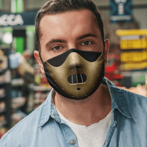Hannibal lecter mask anti pollution face mask 2