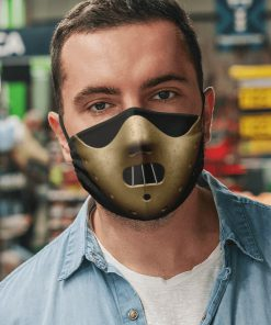 Hannibal lecter mask anti pollution face mask 3