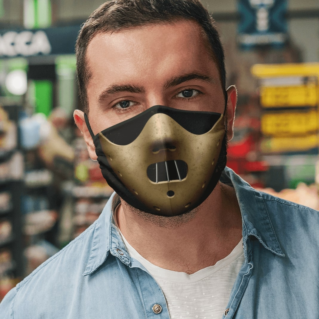 Hannibal lecter mask anti pollution face mask 4