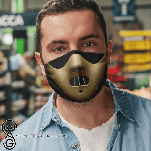 Hannibal lecter mask anti pollution face mask