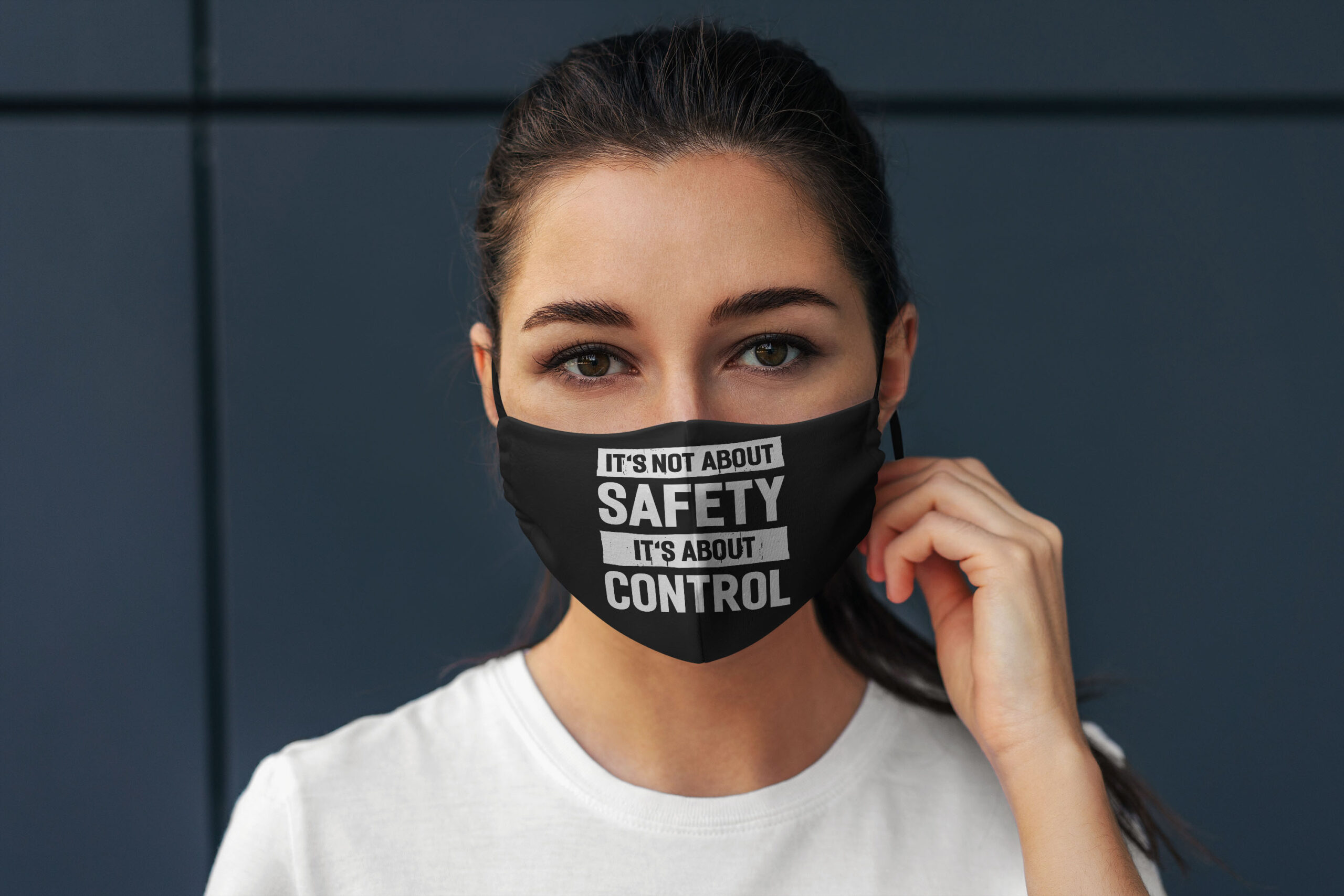Its not about safety its about control anti pollution face mask 1