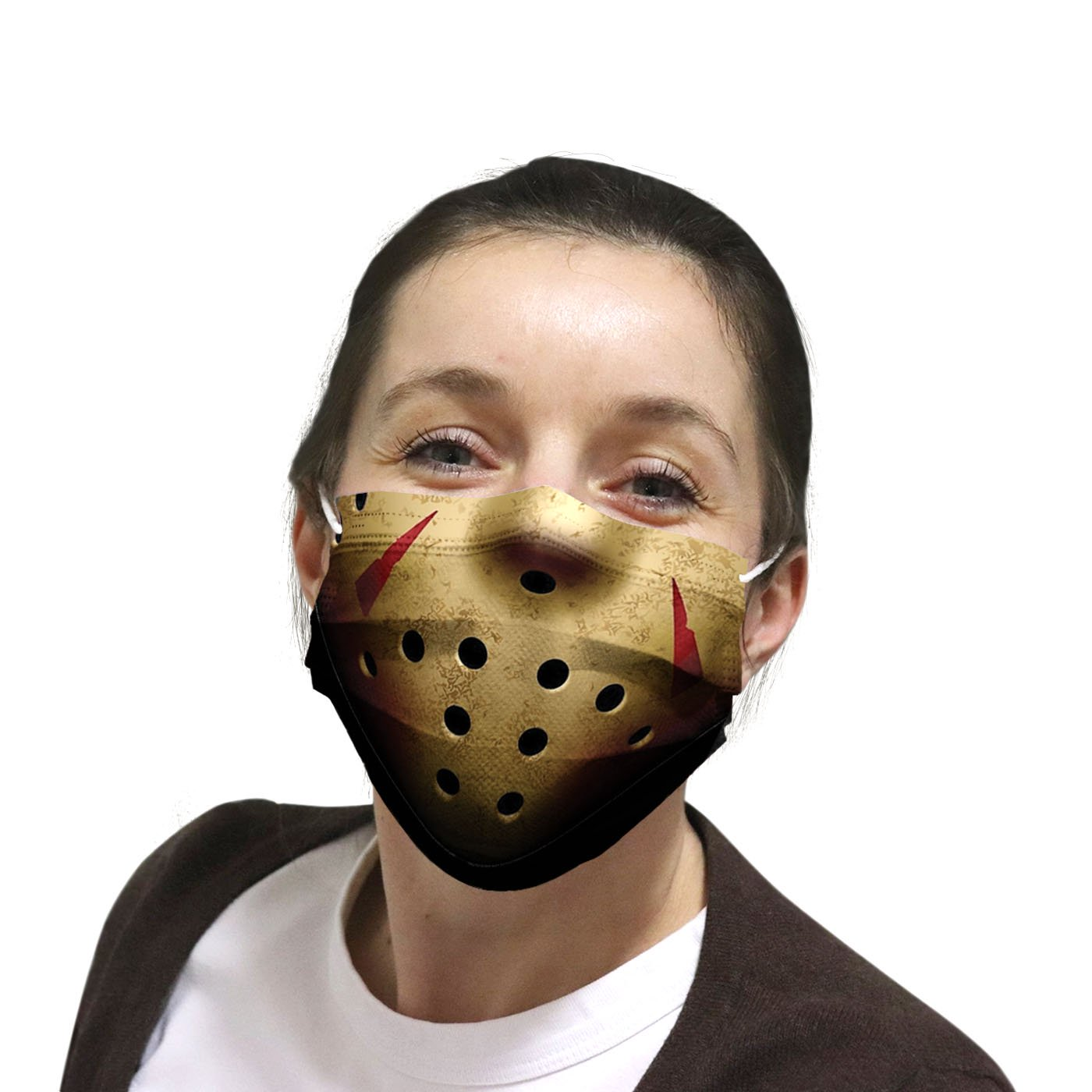 Jason voorhees friday the 13th anti pollution face mask 4