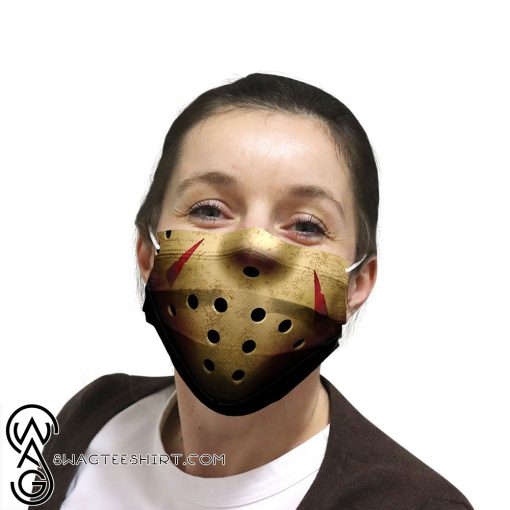 Jason voorhees friday the 13th anti pollution face mask