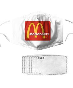 McDonald's anti pollution face mask 1