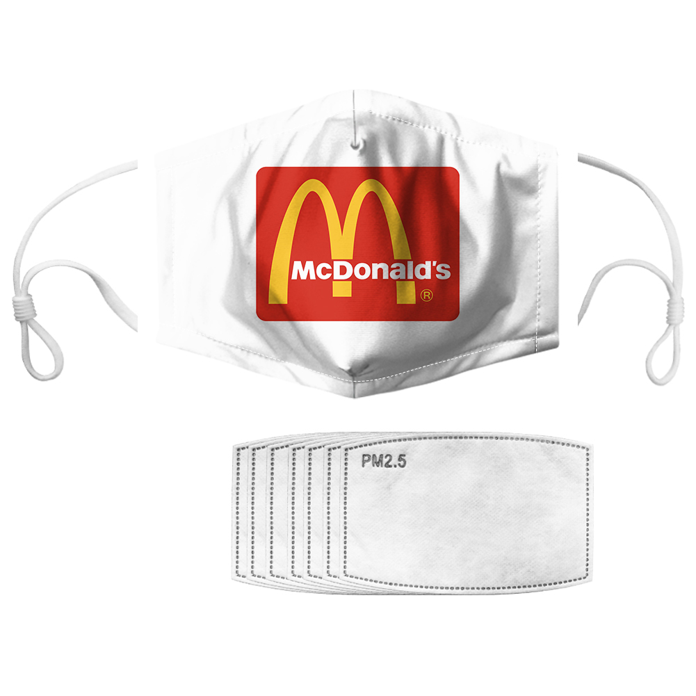 McDonald's anti pollution face mask 2