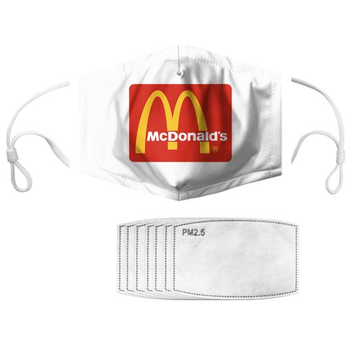 McDonald's anti pollution face mask 3