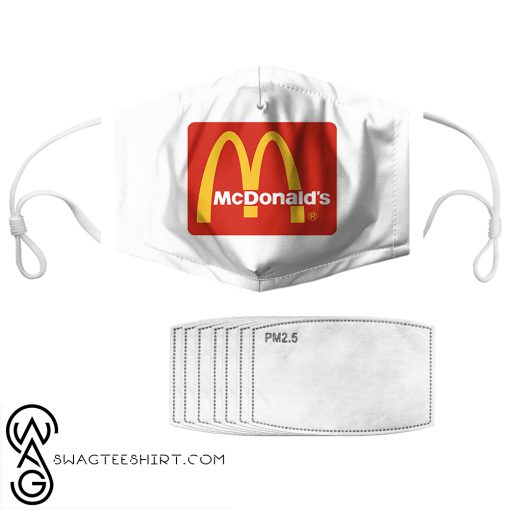 McDonald_s anti pollution face mask