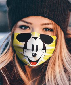 Mickey mouse face cartoon anti pollution face mask 1
