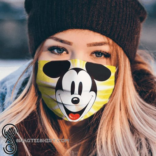 Mickey mouse face cartoon anti pollution face mask
