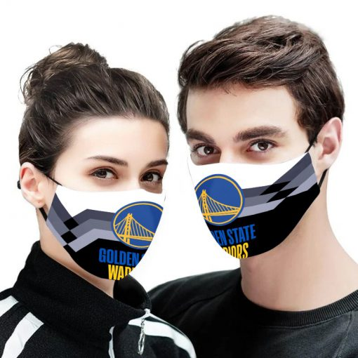 NBA golden state warriors anti pollution face mask 3