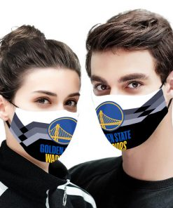 NBA golden state warriors anti pollution face mask 4