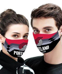 NBA portland trail blazers anti pollution face mask 4