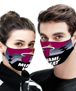 NBA the miami heat anti pollution face mask 1