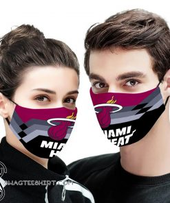 NBA the miami heat anti pollution face mask