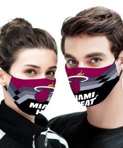 NBA the miami heat anti pollution face mask 3