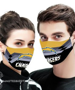 NFL los angeles chargers anti pollution face mask