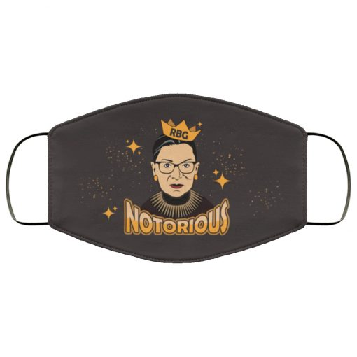 Notorious ruth bader ginsburg feminism anti pollution face mask 1