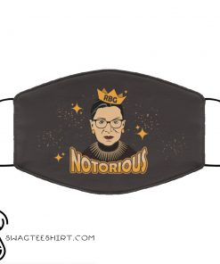 Notorious ruth bader ginsburg feminism anti pollution face mask