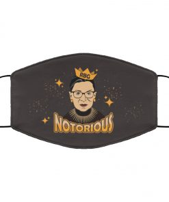 Notorious ruth bader ginsburg feminism anti pollution face mask 3