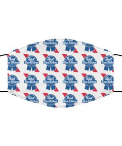Pabst blue ribbon anti pollution face mask 1