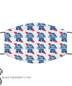 Pabst blue ribbon anti pollution face mask