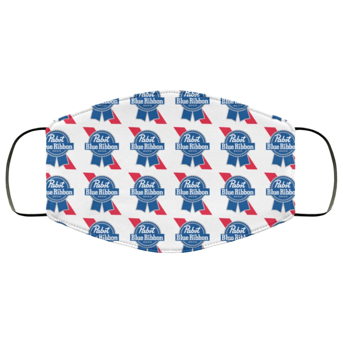 Pabst blue ribbon anti pollution face mask 4