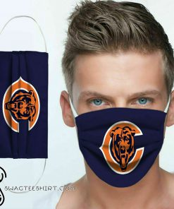 The chicago bears nfl anti pollution face mask