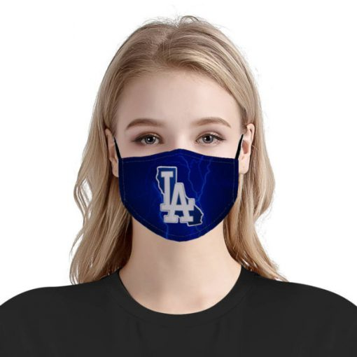 The los angeles dodgers mlb anti pollution face mask 3