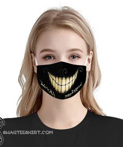 Were all mad here anti pollution face mask