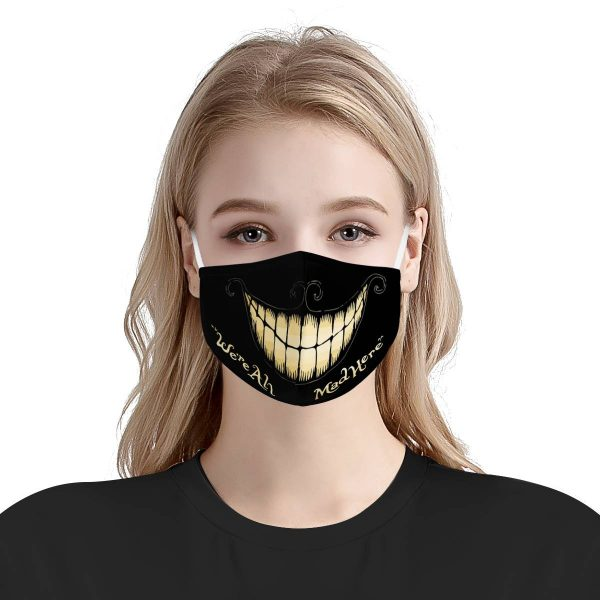 Were all mad here anti pollution face mask 3