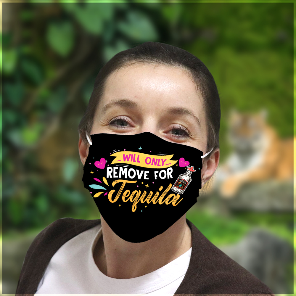 Will only remove for tequila anti pollution face mask 1