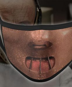 halloween hannibal lecter all over printed face mask 3