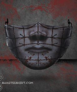 halloween hellraiser all over printed face mask