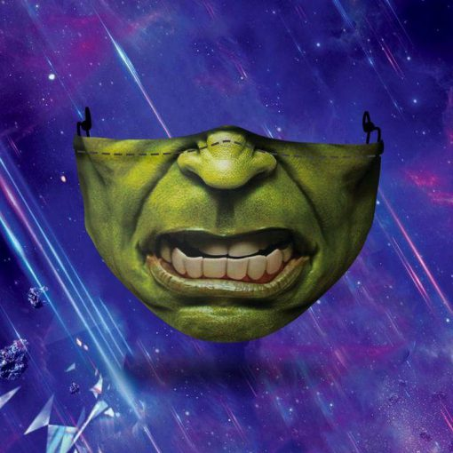 halloween hulk all over printed face mask 2