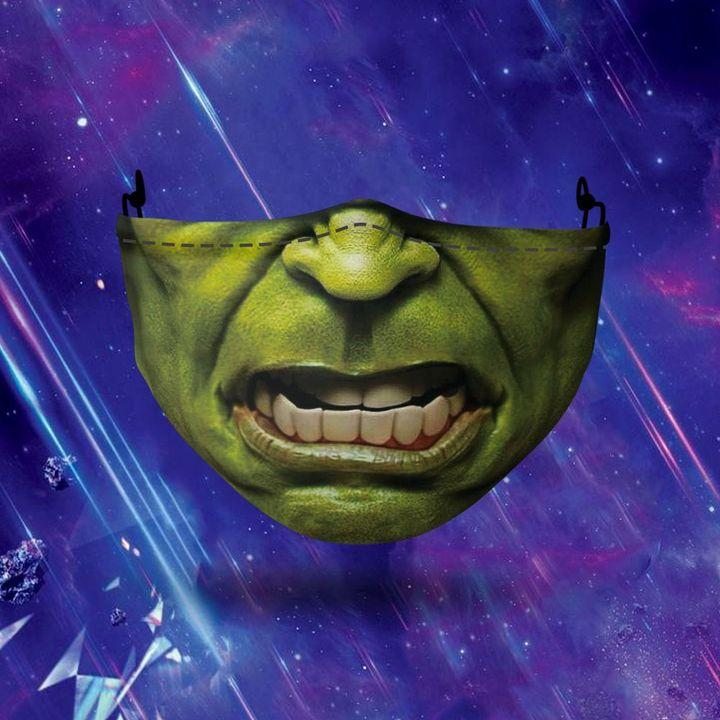 halloween hulk all over printed face mask 3