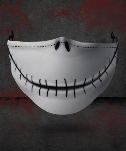 halloween jack skellington all over printed face mask 3