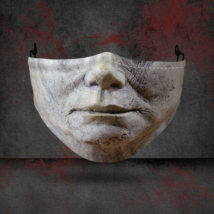 halloween michael myers all over printed face mask 2